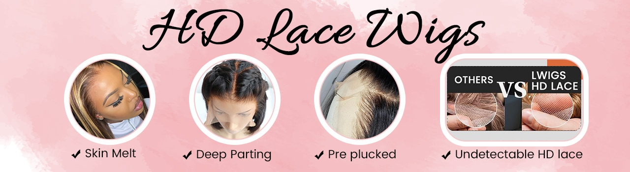 Undetectable HD Lace Wigs
