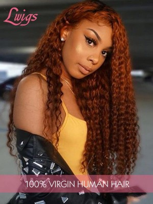 Pre Plucked Undetectable Dream Swiss 13*6 Lace Front Wigs Brazilian Virgin Hair Free Shipping Curly Lace Wigs With Fake Scalp [LWigs284]