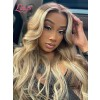 """New Arrival """"Jessica"""" Brazilian Virgin Human Hair Blonde Ombre Color Body Wave Lace Front Wigs Lwigs245"""