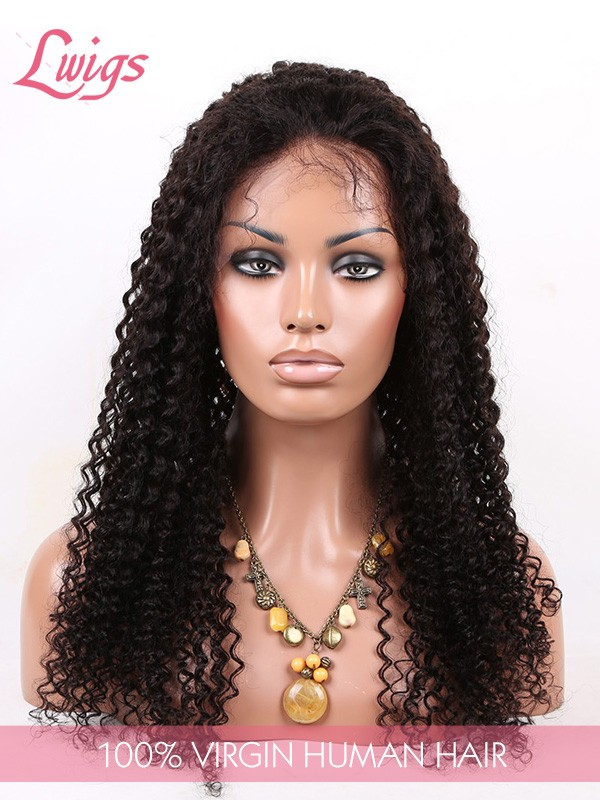 Brazilian Virgin Human Brazilian Virgin Human Hair Curly Hair Lace Wigs With Baby Hair For Black Women Lace Front WigsCurly Hair Lace Wigs With Baby Hair For Black Women Lace Front Wigs