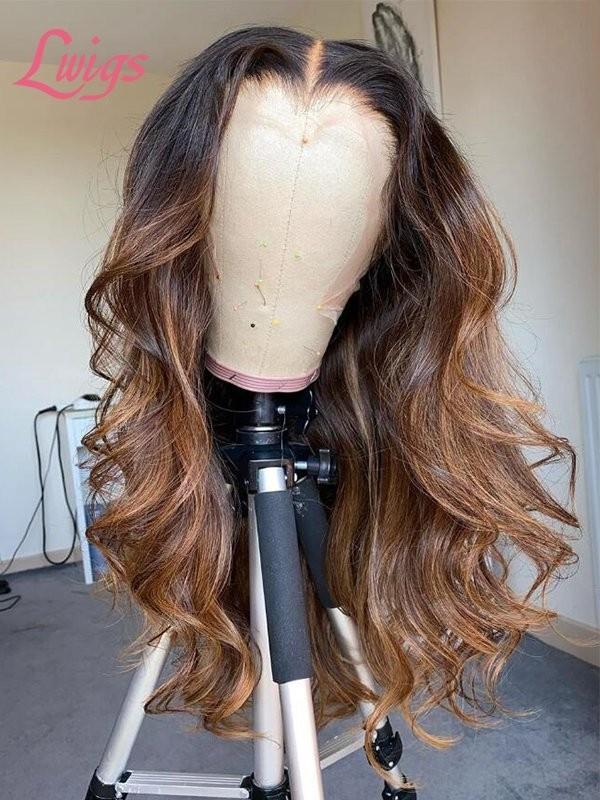 2020 Independence Day  Super Deal Pay 1 Get 2 Wigs Brazilian Virgin Human Hair High Light Color Lace Front Wig Group Sale ID01