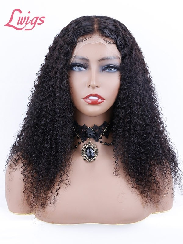 HD Lace 250% Density 360 Lace Wigs 9A Brazilian Deep Wave Curly Undetectable Lace With Natural Hairline LWigs192