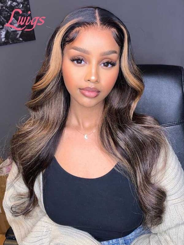 Fake Scalp Undetectable HD Lace Virgin Human Hair Body Wave Glueless Full Lace Wig Hair Trends Lwigs52