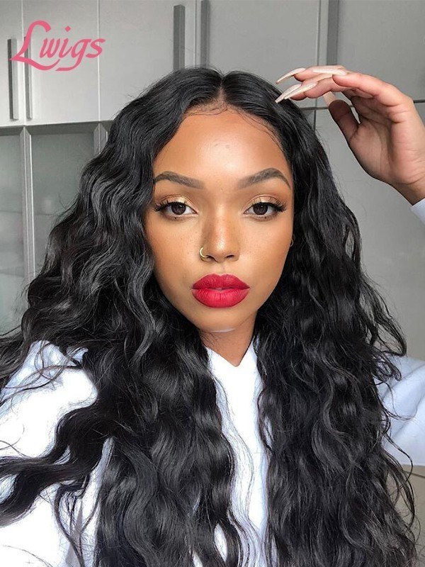 Full Lace Human Hair Wigs Pre Plucked hairline With Baby Hair Lace Wig Silky Straight Virgin Brazilian Human Hair Wigs LWigs68