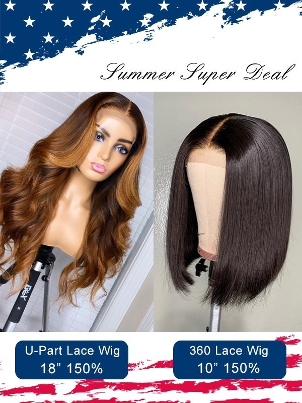 Group Sale  High Light Color Body Wave With Bob Style 360 Lace Wig Independence Day Sale 44 Silk Base Lace Closure Wig Pay 1 Get 2  Wigs ID02