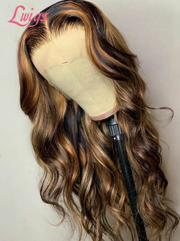 Lwigs Black Friday Super Deal Pay 1 Get 2 Lace Front Wigs Pre Sale High Light Color Wave Wig With Special Gifts 2 Wigs Pre Sale BF05