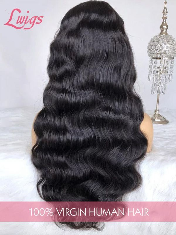 Malaysian Body Wave Undetectable Dream Swiss Lace Wig Pre-plucked Hairline 360 Lace Wigs LWigs168