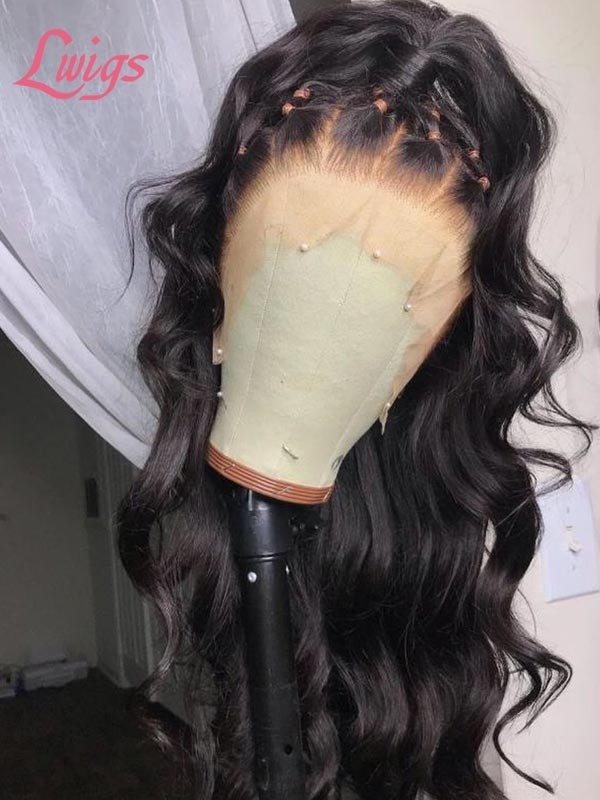 Mothers Day Love HD Lace Wigs Deep Curly Highlights With Blunt Bob Virgin Hair MD04