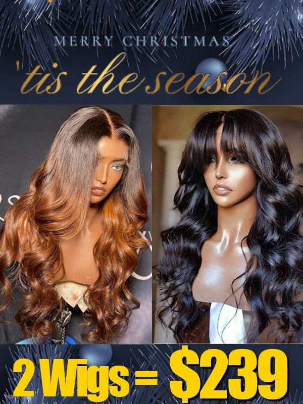 Lwigs Group Sale Pay 1 Get 2 Lace Front Wigs Colored Wig With Body Wave Wig MXS03
