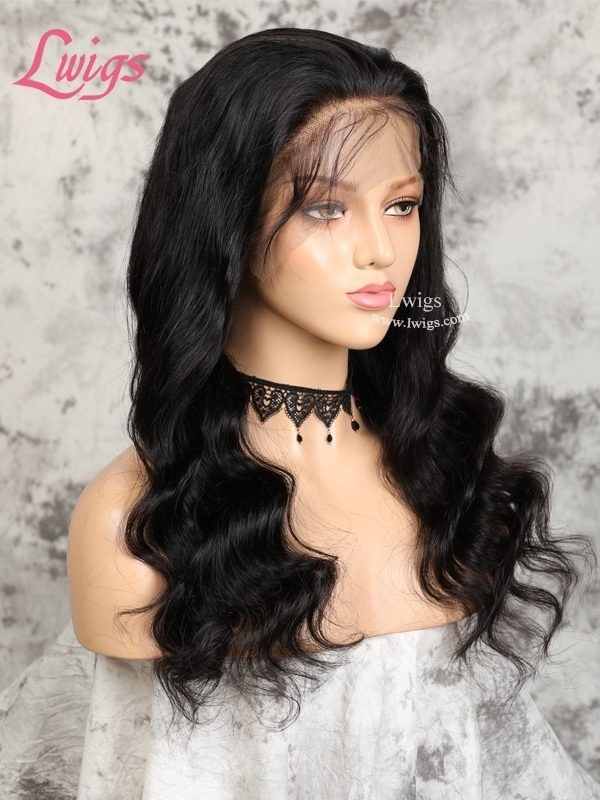 New Arrival Undetectable Lace 360 Lace Wigs For Black Women Brazilian Human Hair Wigs Body Wave 360 Lace Wig With Baby Hair LWigs33