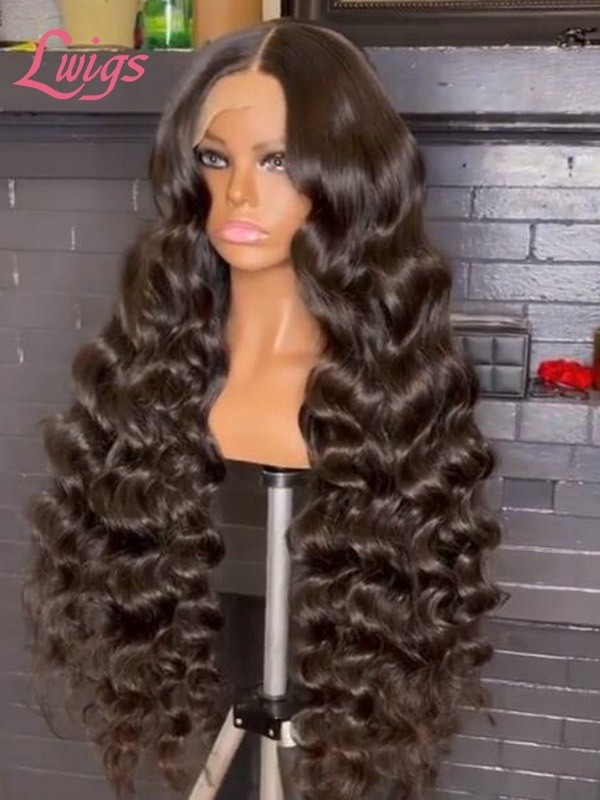 Pay 1 Get 2 Wigs 13x6 HD Lace Wigs Loose Wave Texture Ombre Bob Silky Virgin Hair MD10