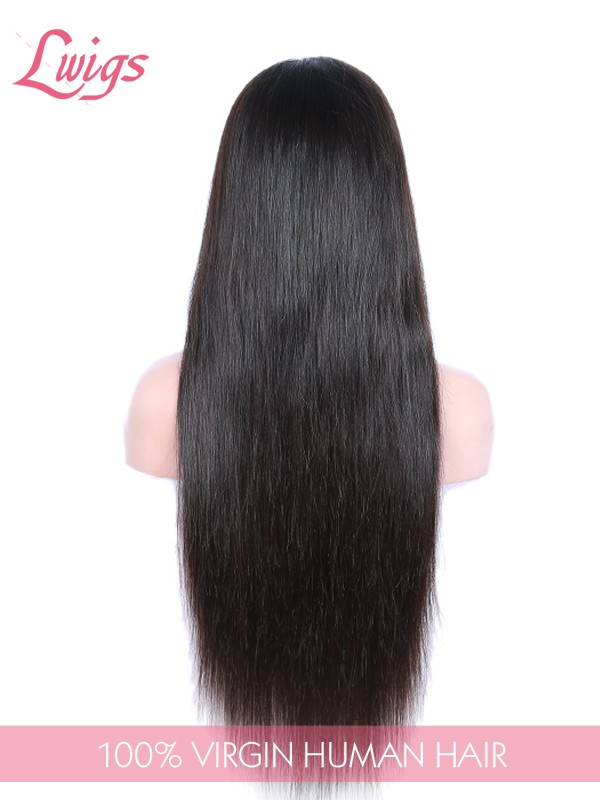 Silky Straight Lace Front Human Hair Wigs For Black WomenT-Part Lace Front Wigs Virgin Brazilian Hair Wigs LWigs107