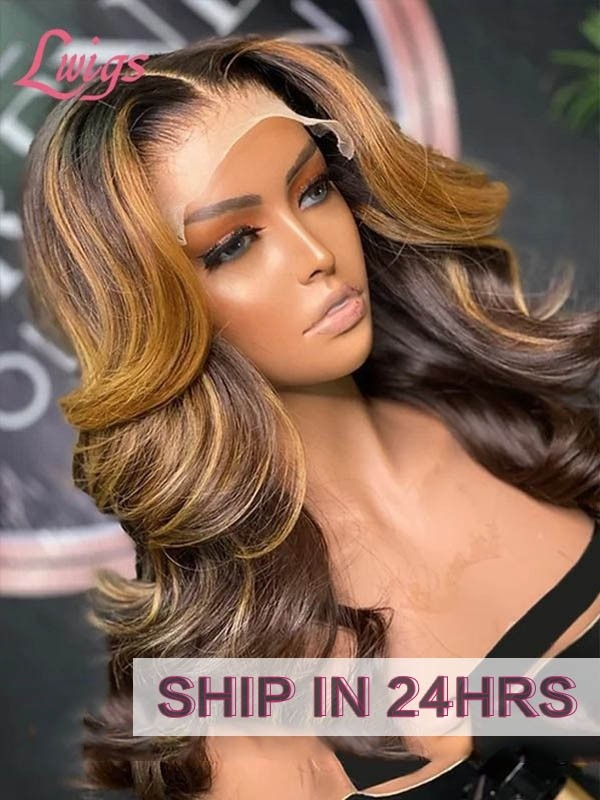 Undetectable Dream Swiss Lace Unprocessed Virgin Brazilian Human Hair Body Wave 360 Lace Wigs With Nutural Ponytail For Women LWigs64