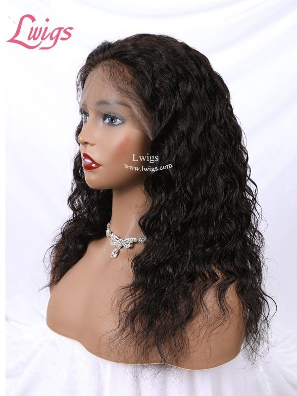 Unprocessed Natural Wave 360 Lace Wigs Virgin Brazilian Human Hair Undetectable HD Lace 360 Lace Frontal Wigs [LWigs159]