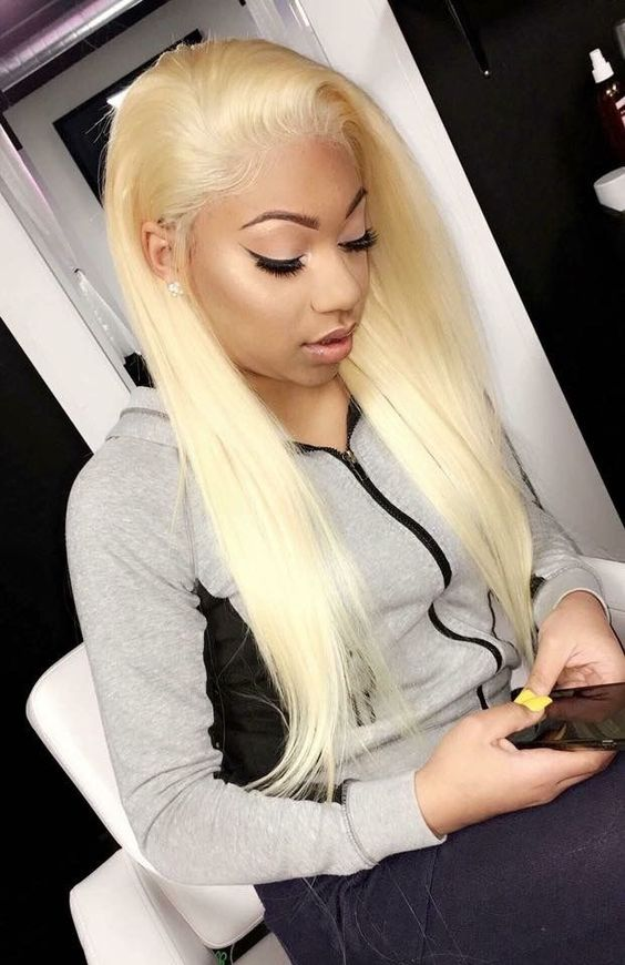 blond hair lace wigs