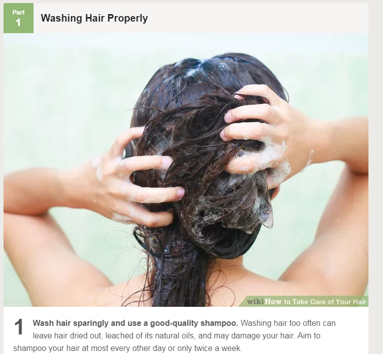 how to care about hair